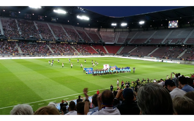 Final of the French Supercup in Klagenfurt